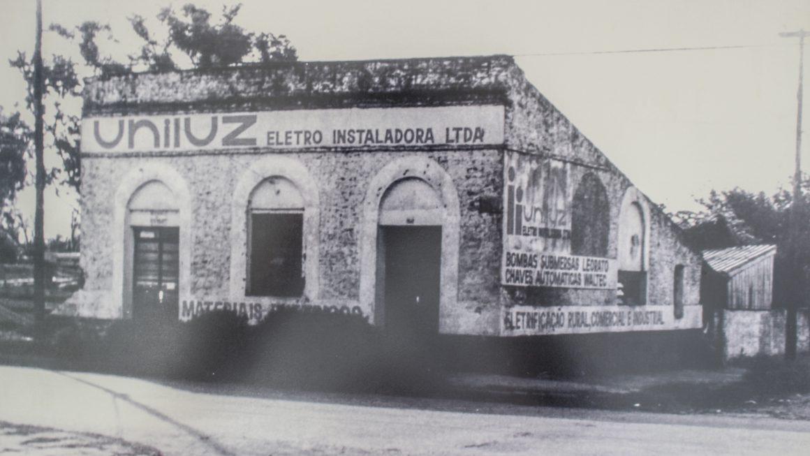 Primeira Sede em São Borja - 1983